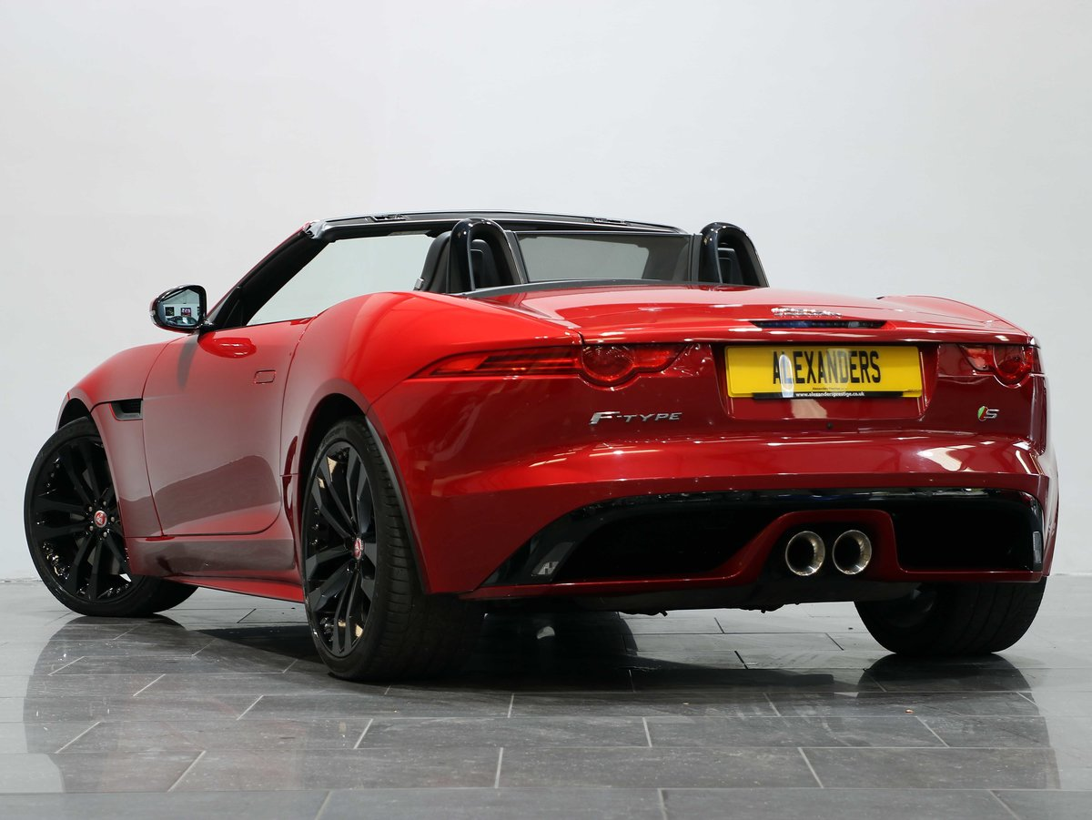 2016 16 16 JAGUAR F-TYPE S CONVERTIBLE 3.0 V6 SUPERCHARGED AUTO For Sale (picture 3 of 6)