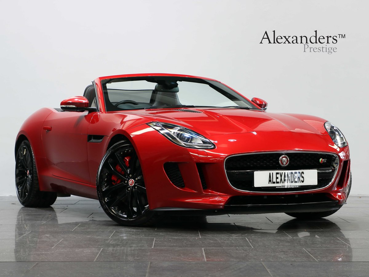 2016 16 16 JAGUAR F-TYPE S CONVERTIBLE 3.0 V6 SUPERCHARGED AUTO For Sale (picture 1 of 6)