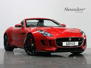 16 16 JAGUAR F-TYPE S CONVERTIBLE 3.0 V6 SUPERCHARGED AUTO