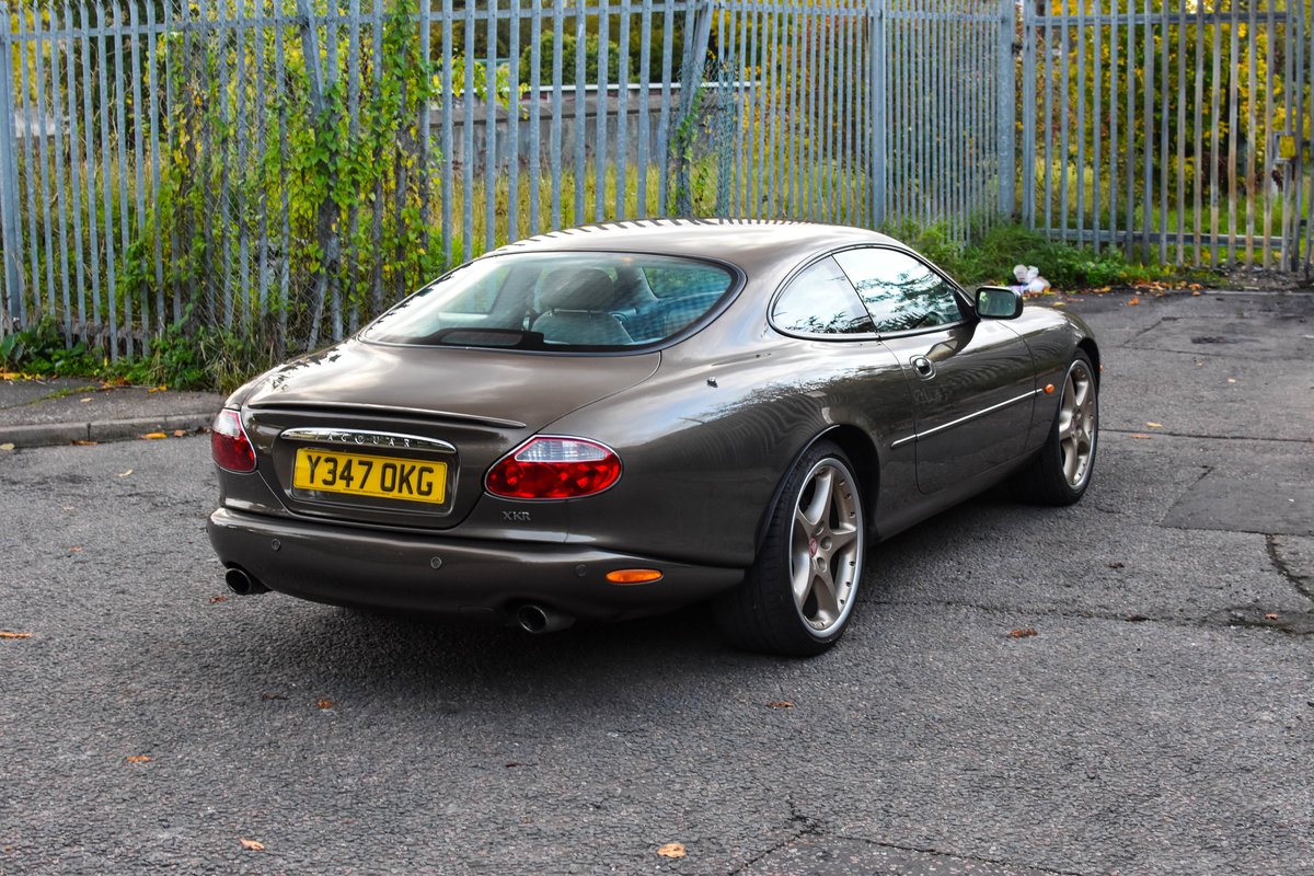 2001 Jaguar XKR 4.0 Supercharged Roman Bronze 1 of 70 For Sale (picture 4 of 6)