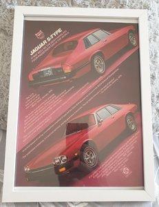 Picture of 1963 Original 1977 Jaguar XJS Framed Advert