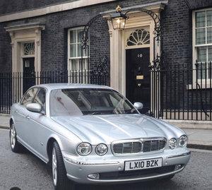 Jaguar XJ8L Margaret Thatcher