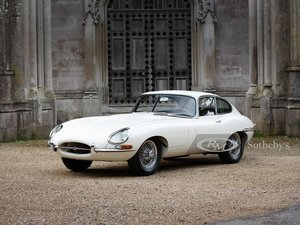 Picture of 1961 Jaguar E-Type Series 1 3.8-Litre Fixed Head Coupe  For Sale by Auction