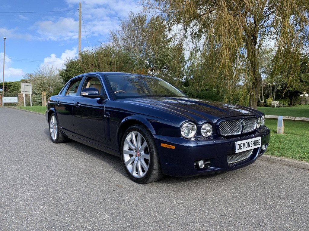 2007 Jaguar XJ 2.7 V6 Sovereign X358 ONLY 36000 MILES For Sale (picture 1 of 6)