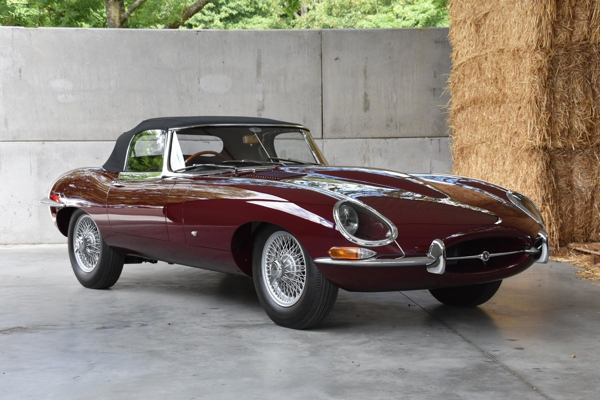 1961 Jaguar E-type Series 1 3.8 OTS OBL - Chassis 54 SOLD (picture 1 of 6)