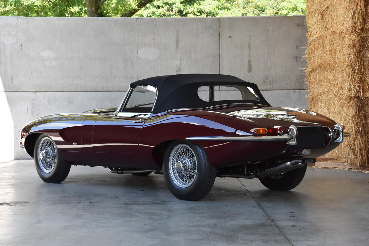 1961 Jaguar E-type Series 1 3.8 OTS OBL - Chassis 54 SOLD (picture 2 of 6)