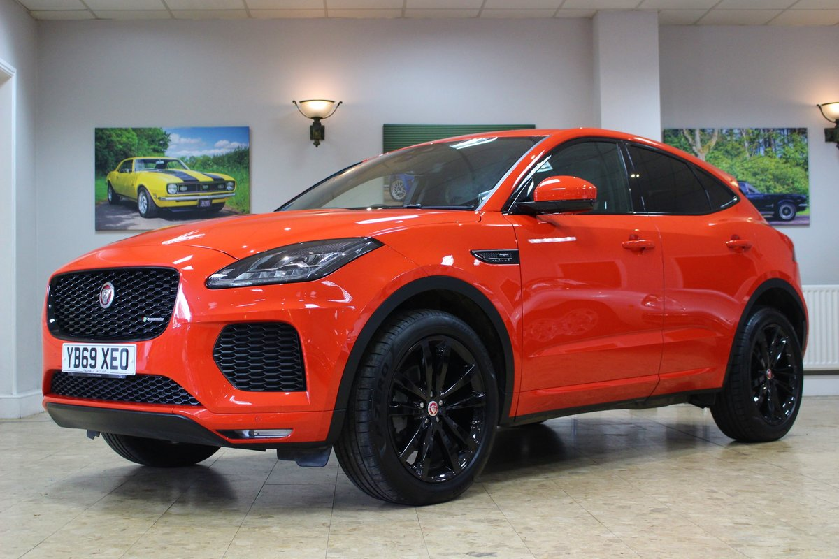 2019 Jaguar E-Pace D180 Chequered Flag R-Dynamic AWD Auto For Sale (picture 1 of 25)