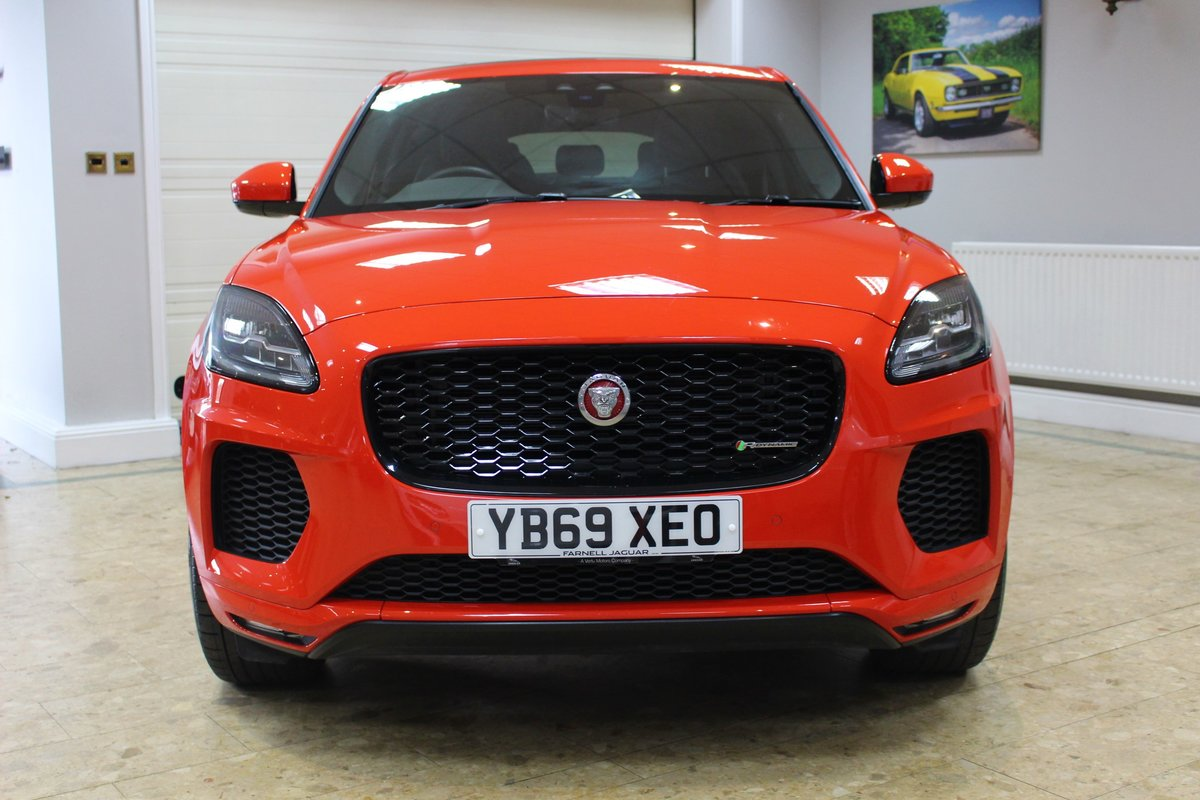 2019 Jaguar E-Pace D180 Chequered Flag R-Dynamic AWD Auto For Sale (picture 3 of 25)