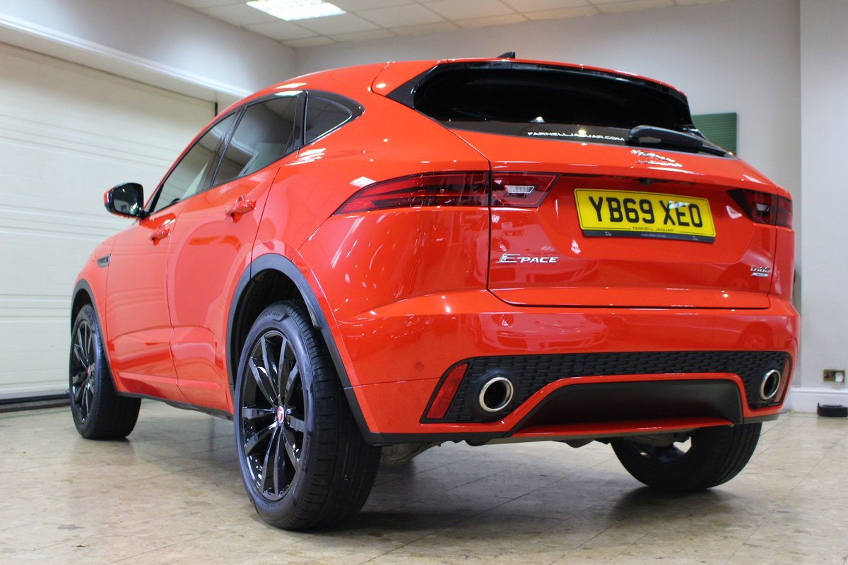 2019 Jaguar E-Pace D180 Chequered Flag R-Dynamic AWD Auto For Sale (picture 4 of 25)