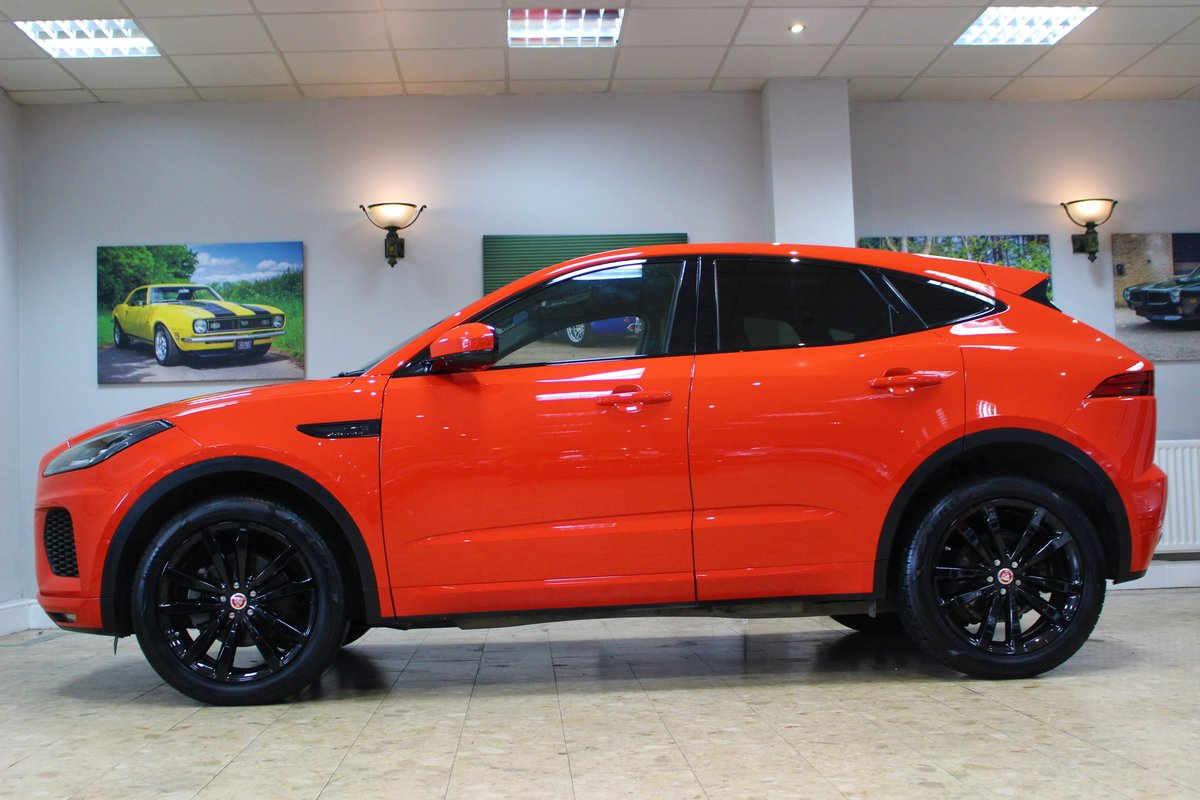2019 Jaguar E-Pace D180 Chequered Flag R-Dynamic AWD Auto For Sale (picture 6 of 25)