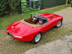 Jaguar E Type S1 Roadster