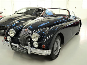 Picture of 1961 Jaguar XK150 3.4 Roadster (OTS) Manual Factory Overdrive For Sale