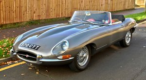 Picture of 1961 JAGUAR E TYPE SERIES 1 FLAT FLOOR ROADSTER For Sale
