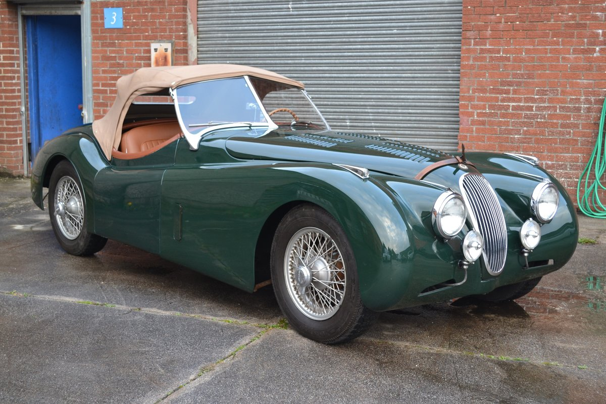 1952 Jaguar XK120 Roadster For Sale by Auction | Car And ...
