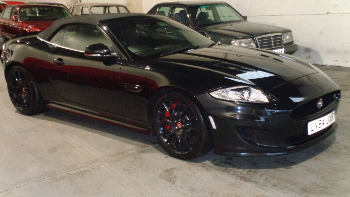 2014 Jaguar xkr 5.0 dynamic supercharger convertible SOLD (picture 1 of 6)