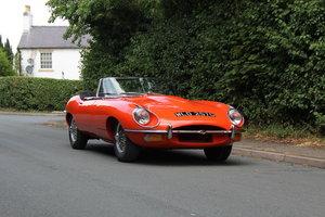 Picture of 1968 Jaguar E-Type Series II 4.2 Roadster, Porsche Tangerine