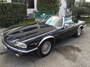 Jaguar - XJS 5.3 V12 Convertibile RIVS REGISTRATION