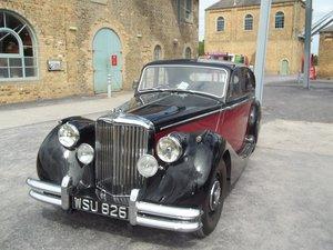 Picture of 1950 mk5 jaguar