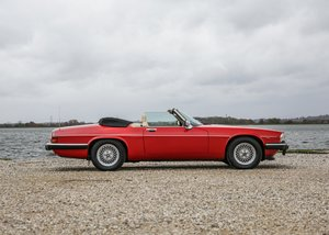 Picture of 1990 Jaguar XJS Convertible (5.3 litre) SOLD by Auction