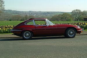 Picture of 1971 E Type Jaguar hire Yorkshire | Rent a Jaguar E-type For Hire