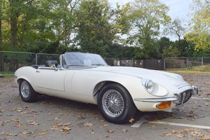 Picture of 1973 L Jaguar E Type V12 Roadster in Old English White For Sale
