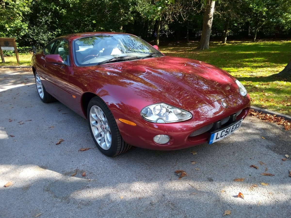 2001 Jaguar XKR Coupe 23750 Miles Only. Outstanding Condition For Sale (picture 1 of 6)