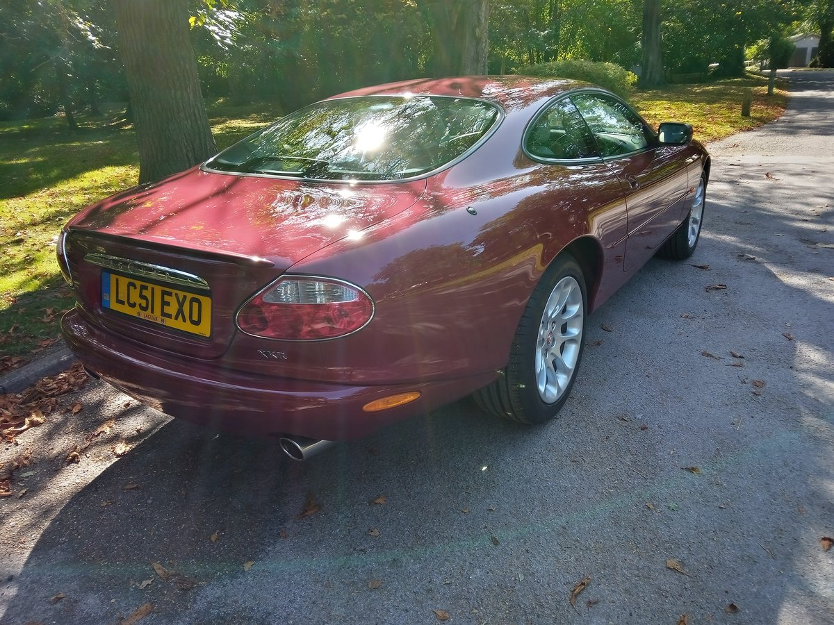 2001 Jaguar XKR Coupe 23750 Miles Only. Outstanding Condition For Sale (picture 2 of 6)