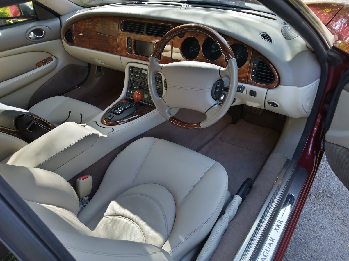 2001 Jaguar XKR Coupe 23750 Miles Only. Outstanding Condition For Sale (picture 5 of 6)