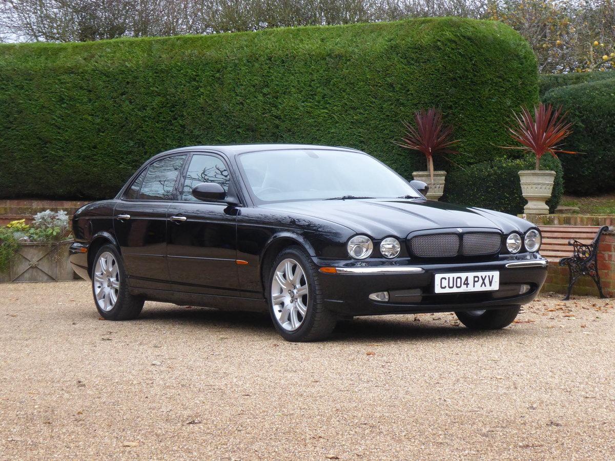 2004 Jaguar XJ6 X350 67000 miles Full Jaguar History Superb For Sale (picture 2 of 6)