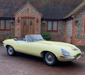 Jaguar E Type S1.5 Roadster 1.5 4.2 ltr