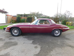 1974 JAGUAR E TYPE V12 MANUAL ROADSTER