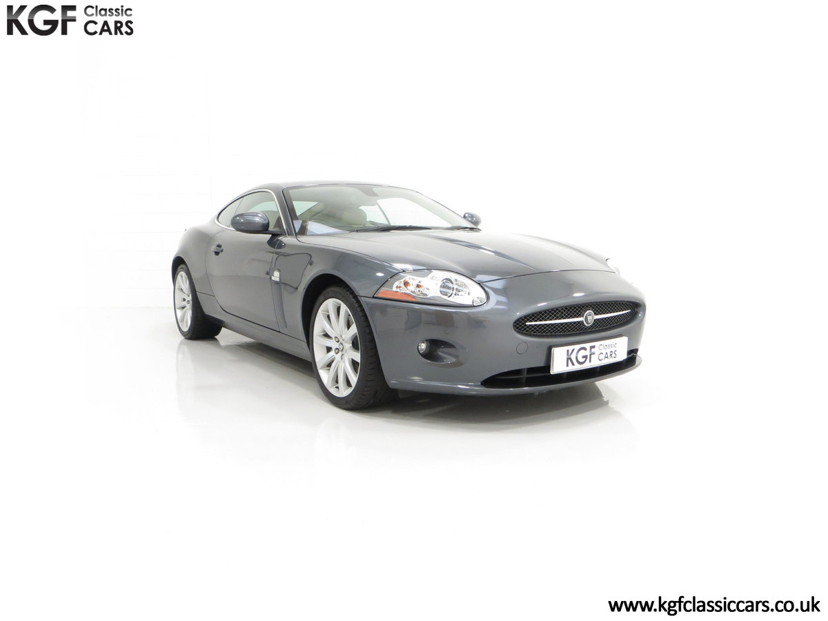 2006 An Impeccably Maintained Jaguar X150 XK 4.2L V8 Coupe SOLD (picture 1 of 24)