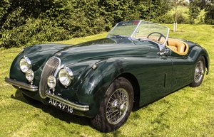 Picture of Jaguar XK120 roadster 1953 6 cyl. 3.4L. For Sale