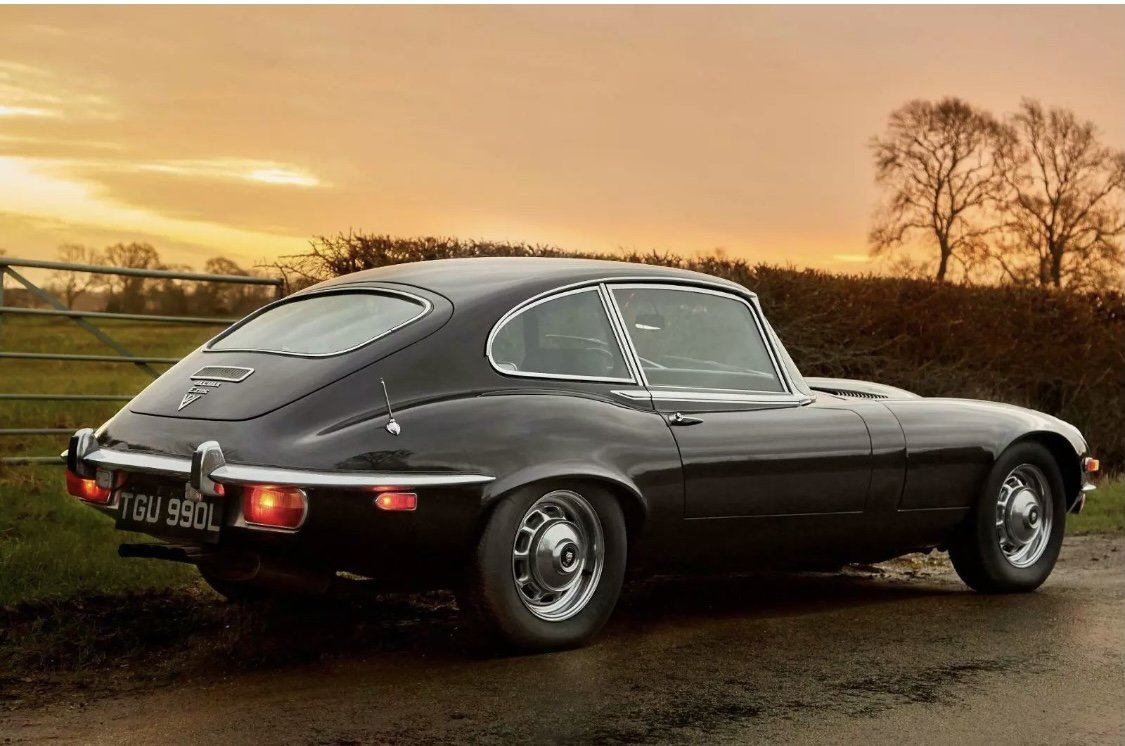 1973 Jaguar EType Matching numbers SOLD (picture 2 of 6)