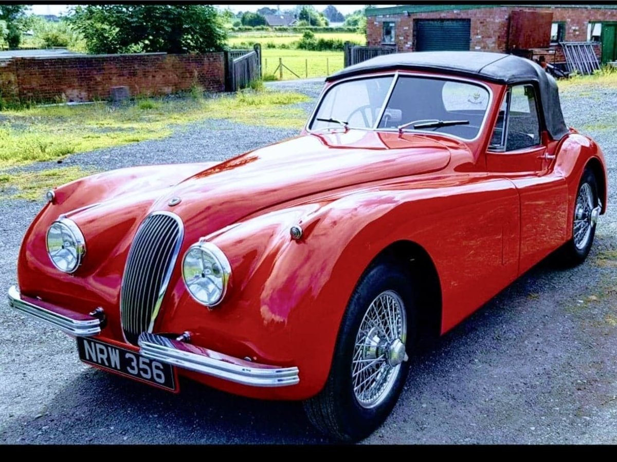 Picture of 1954 Very Original RHD Jaguar XK120 DHC SE P/x Considered For Sale