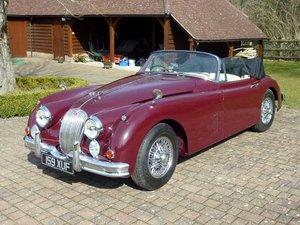 Picture of 1960 Jaguar XK150 3.4 Litre Convertible SOLD by Auction