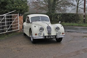 Jaguar XK140 UK car, subtle upgrades, former concours winner