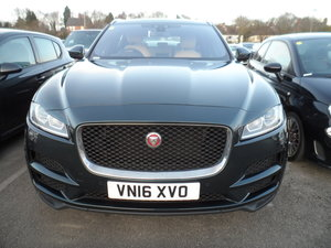 Picture of 2016 F-PACE 2 JAGUAR AWD SUV GREEN NICE ONE 84K PRESTIGE 16 REG For Sale