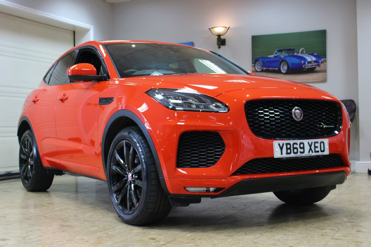 2019 Jaguar E-Pace D180 Chequered Flag R-Dynamic AWD Auto For Sale (picture 11 of 25)