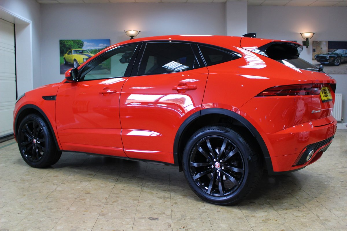 2019 Jaguar E-Pace D180 Chequered Flag R-Dynamic AWD Auto For Sale (picture 15 of 25)