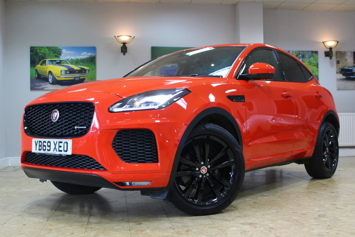 2019 Jaguar E-Pace D180 Chequered Flag R-Dynamic AWD Auto For Sale (picture 20 of 25)