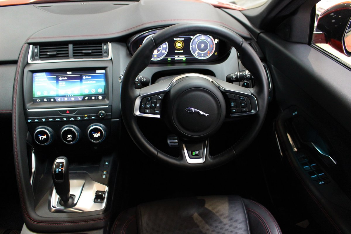 2019 Jaguar E-Pace D180 Chequered Flag R-Dynamic AWD Auto For Sale (picture 24 of 25)
