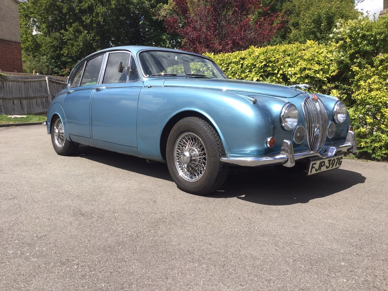 1968 Jaguar 340 Owned 30 years,No rot, Engine Rebuilt For ...