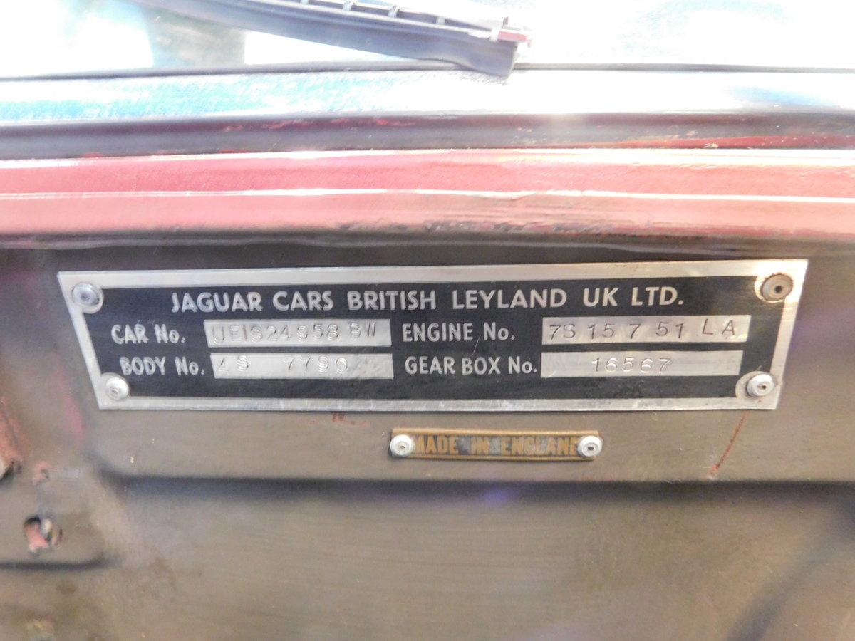 1974 JAGUAR E TYPE V12 ROADSTER For Sale (picture 25 of 25)