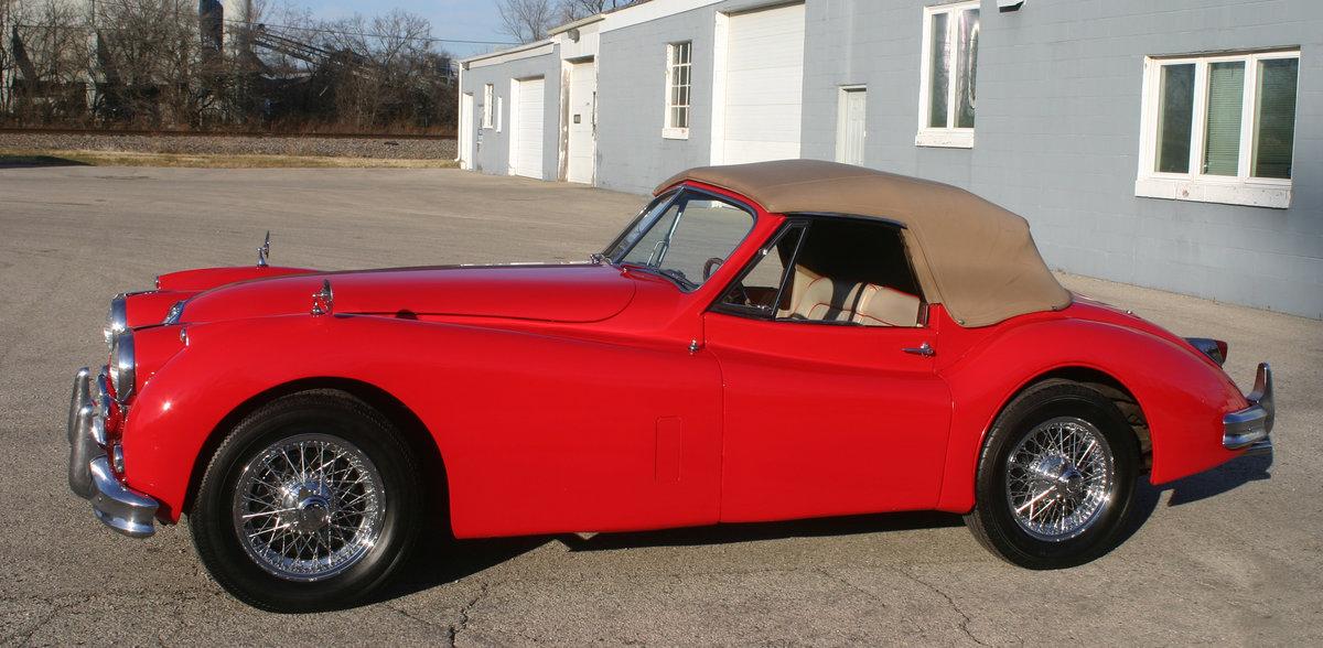 1957 Jaguar XK 140 Drophead For Sale (picture 2 of 12)