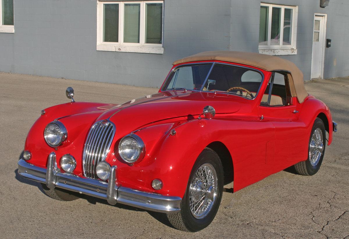 1957 Jaguar XK 140 Drophead For Sale (picture 3 of 12)
