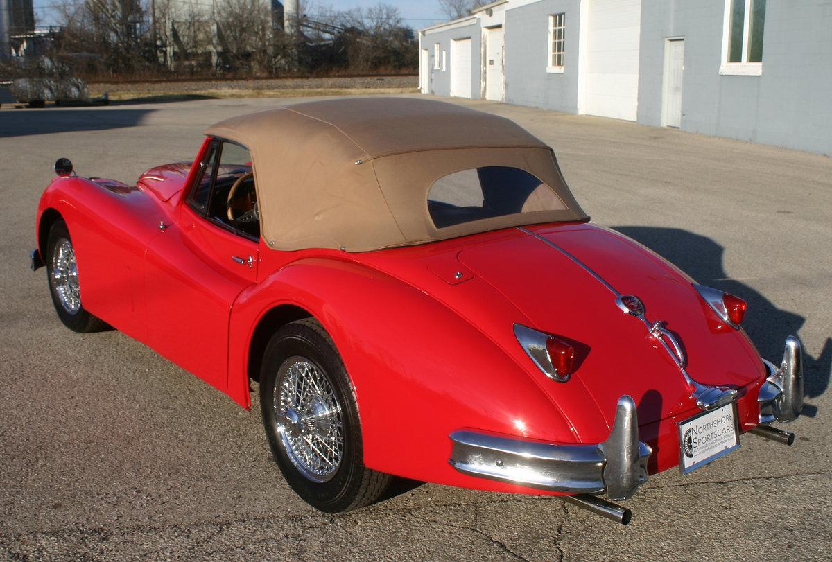 1957 Jaguar XK 140 Drophead For Sale (picture 4 of 12)
