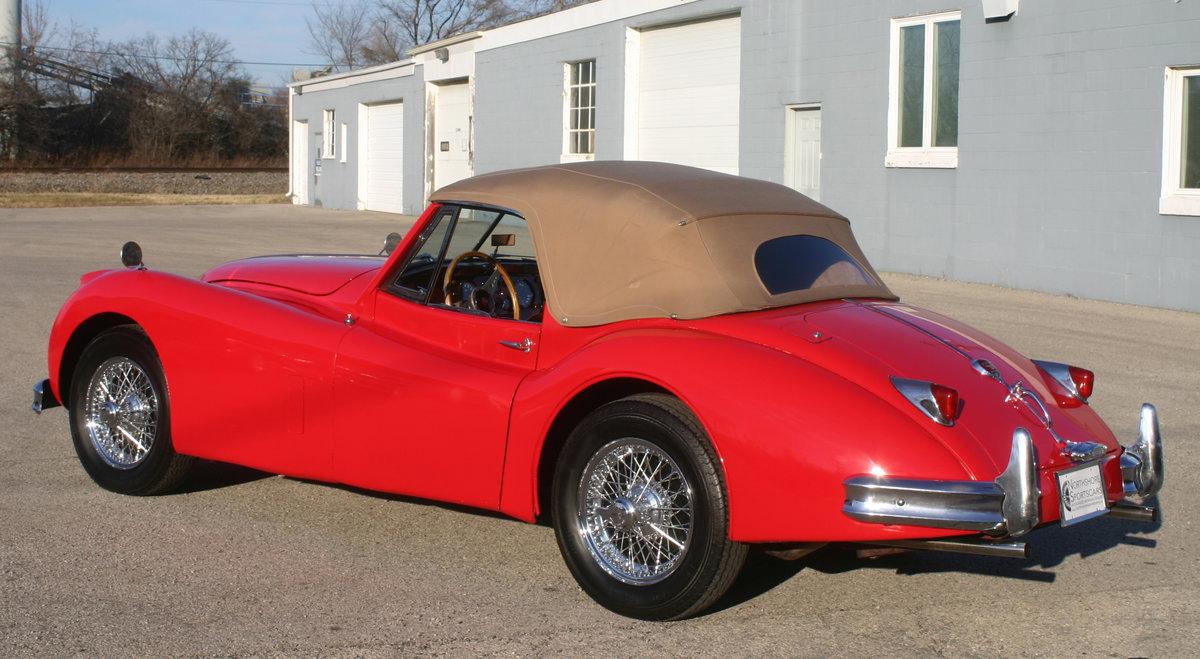 1957 Jaguar XK 140 Drophead For Sale (picture 5 of 12)