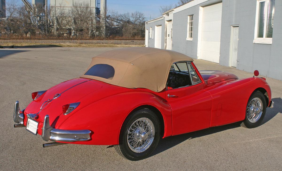 1957 Jaguar XK 140 Drophead For Sale (picture 6 of 12)
