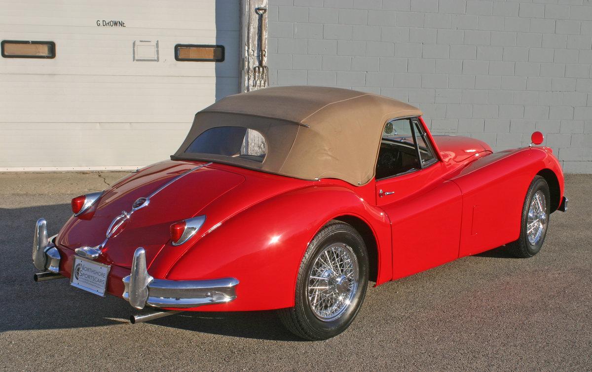 1957 Jaguar XK 140 Drophead For Sale (picture 9 of 12)
